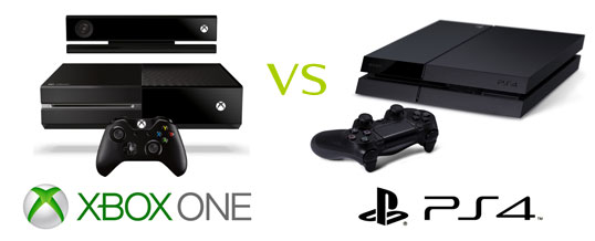 XBOX ONE vs PS4 : Comparatif
